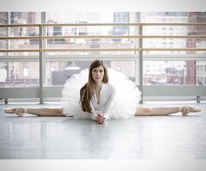 art, girl, and white image