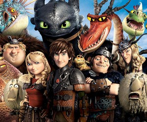 how to train your dragon and dragons image