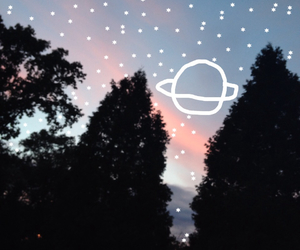 blue, pink, and pink sky image