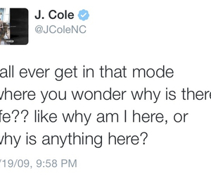 text, typography, and j.cole image