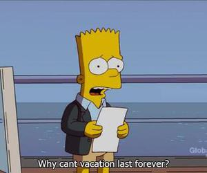 quotes, simpsons, and vacation image
