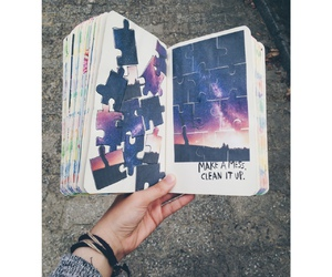 diy, wreck this journal, and idea image