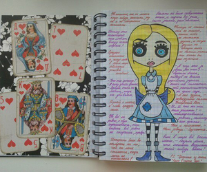 diy, wreck this journal, and doll image