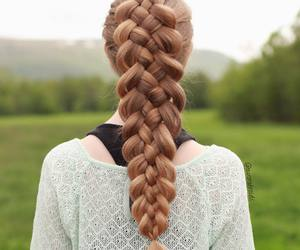 braids, hair, and fashion image