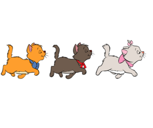 aristocats, cats, and pink image