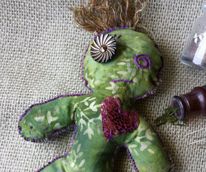 magic, voodoo doll, and witchcraft image