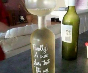 glass, wine, and funny image