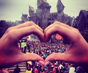 Tomorrowland and love image