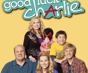 disney and good luck charlie image
