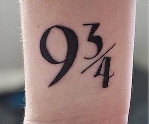 harry potter, tatouage , and voie 9 3 4 image