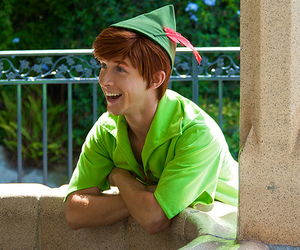 peter pan, spieling peter, and disney image