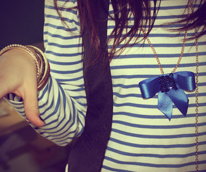 girl, fashion, and bow image