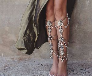 fashion, jewelry, and legs image