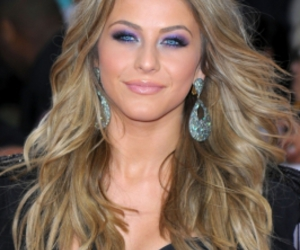 ash blonde and julianne hough image
