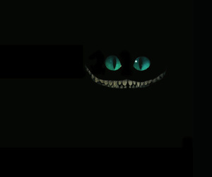 alice, Cheshire cat, and smile image