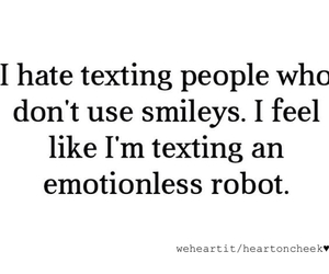 quote, true, and smileys image