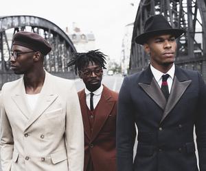 black man, african american men, and fashion image
