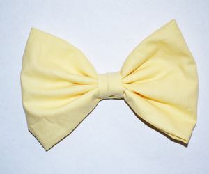bow, yellow, and cute image