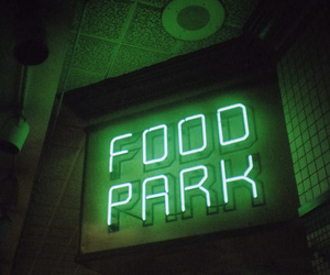 green, food, and glow image