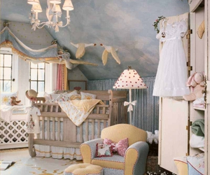 nursery, baby, and baby room image