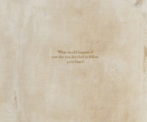 heart, quote, and follow image