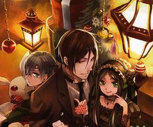 kuroshitsuji, black butler, and anime image