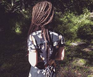 boho, indie, and dreads image