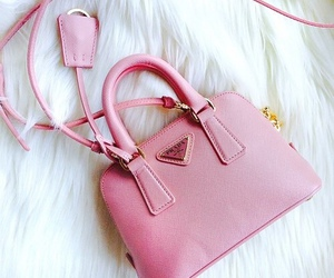 pink, Prada, and bag image