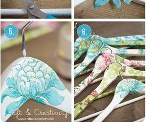 diy, flowers, and hanger image