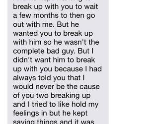 boyfriend, broken, and ex image