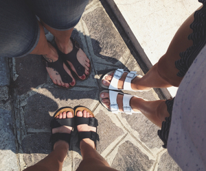 birkenstock, shoes, and simple image