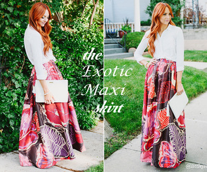 skirt, exotic, and fashion image