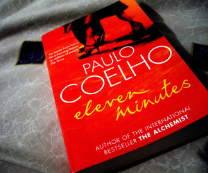 books, paulo coelho, and eleven minutes image