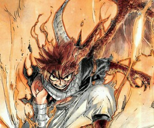 fairy tail and natsu dragneel image