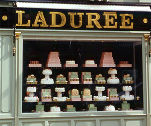 french, laduree, and shop image