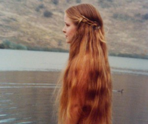 beauty, long hair, and style image