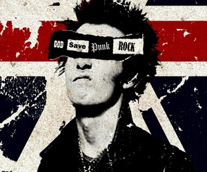 sid vicious, rock, and sex pistols image