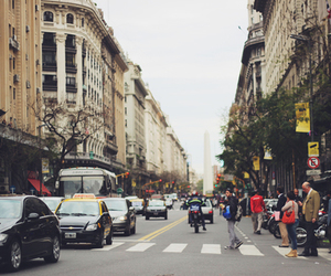 city, argentina, and people image