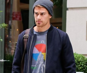 theo james, four, and insurgent image