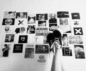 grunge, black, and black and white image