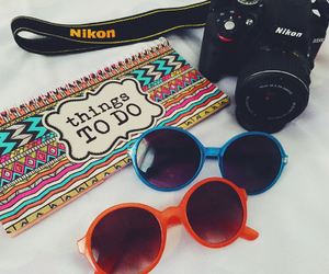 camera, colorful, and fancy image