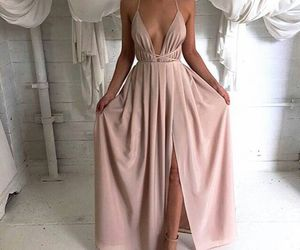 dress, a, and fashion image