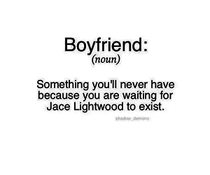 boyfriend, jace, and lightwood image