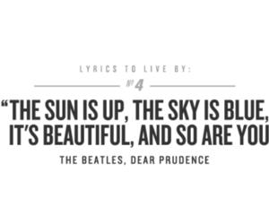 Lyrics, the beatles, and beatles image
