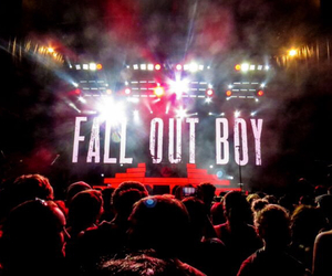bands and fall out boy image