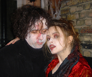 costumes, couple, and horror image
