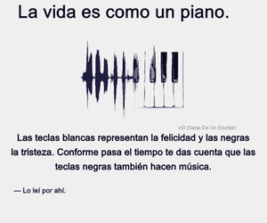 frases, piano, and frases image