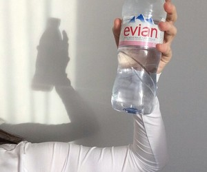 water and evian image