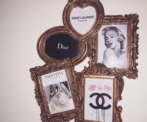 chanel, Marilyn Monroe, and dior image