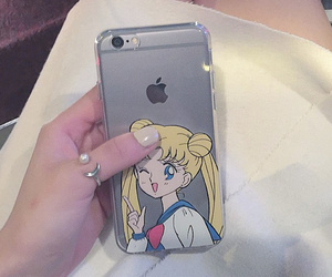 anime, sailor moon, and iphone image